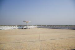 浩大的河南平原 库存照片
