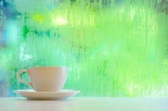 浪漫咖啡杯 图库摄影
