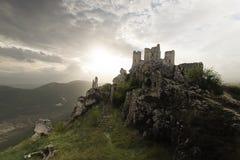 浪漫城堡 免版税库存图片