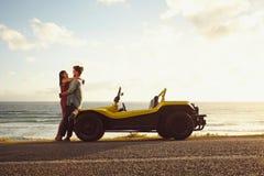 浪漫旅行本质上 库存图片