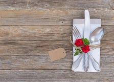 浪漫晚餐情人节概念 免版税库存照片