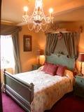 浪漫的卧室 免版税库存照片