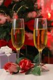 浪漫的圣诞前夕 免版税库存图片