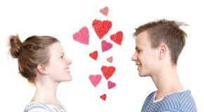 浪漫的夫妇 库存图片