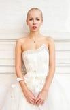 浪漫的新娘 免版税库存图片