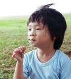 浪漫的男孩 图库摄影