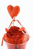 浪漫的装饰 库存图片