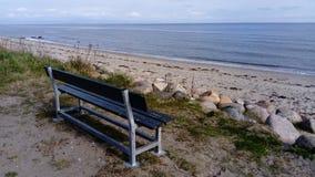 浪漫的长凳 库存照片