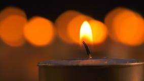 浪漫蜡烛光 影视素材
