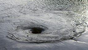 浪潮是螺旋波浪 库存照片