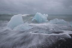 浮冰 图库摄影