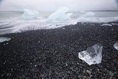 浮冰 免版税库存照片