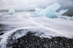 浮冰 库存图片