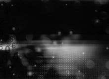 浮动反映的编号的背景  免版税库存照片