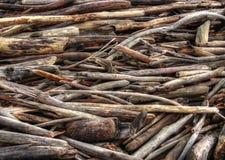浮动木头 免版税图库摄影