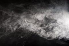 浮动烟 库存照片