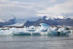 浮动的冰山 免版税图库摄影