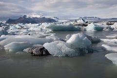 浮动的冰山 库存图片