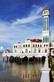 浮动的清真寺槟榔岛 免版税库存图片