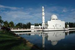 浮动的清真寺 图库摄影