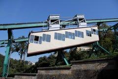 浮动的电车 免版税库存照片