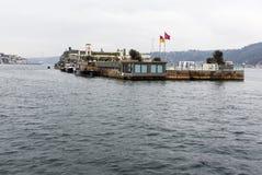 浮动的餐馆 图库摄影