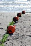 浮动设备的救生员浮体 免版税库存图片