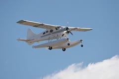 浮动飞机 库存图片