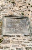 浮升员的Pilatre de Rosier匾 库存图片