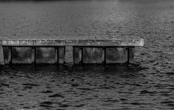 浮船坞画象 库存照片