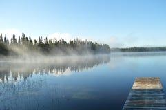 浮船早晨 库存照片