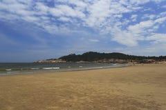 浯屿沙滩 库存照片