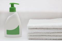 浴产品 免版税图库摄影