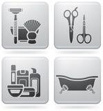 浴器物 免版税图库摄影