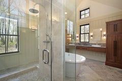浴家庭豪华重要资料 库存照片