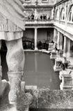 浴房子罗马英国 免版税图库摄影