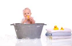 浴时间 免版税图库摄影