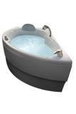 浴极可意浴缸温泉 免版税图库摄影
