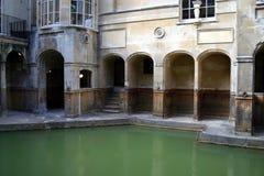 浴浴罗马的英国 库存照片