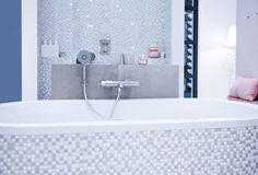 浴现代空间 库存照片