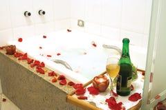 浴缸温泉 库存照片