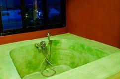 浴缸空间 图库摄影