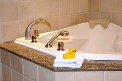 浴缸 免版税库存照片