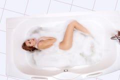 浴采取 免版税图库摄影