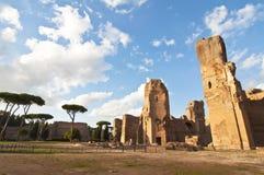 浴caracalla意大利罗马 免版税图库摄影