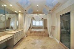 浴celing的设计重要资料 库存图片