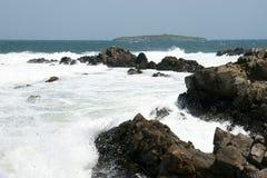 海†‹â€ ‹和海岛17 库存照片