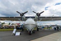 海上巡逻和搜救水上飞机巩固了PBY卡塔利娜(PBY-5A) 免版税库存图片