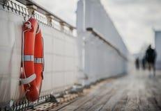 海上旅行安全 免版税库存图片