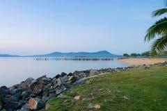 海上普吉岛泰国的早晨 图库摄影